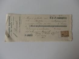 Traite Des Entrepôts Agricoles De Meaux (77) Bricourt à Villenoy-Meaux (77). - 1900 – 1949