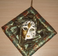 Masker Pierrot - Ceramics & Pottery