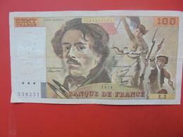 FRANCE 100 FRANCS 1978 ALPHABET E.2 CIRCULER - 1962-1997 ''Francs''