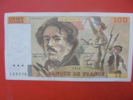 FRANCE 100 FRANCS 1978 ALPHABET J.5 CIRCULER - 1962-1997 ''Francs''