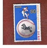 GIAPPONE  (JAPAN) - SG 1538   -   1979  BASEBALL TOURNAMENT       - USED° - 1926-89 Imperatore Hirohito (Periodo Showa)