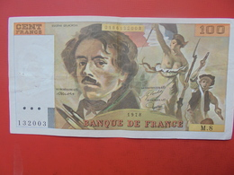 FRANCE 100 FRANCS 1978 ALPHABET M.8 CIRCULER - 1962-1997 ''Francs''