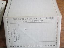 736           LETTRE MILITAIRE CAPITAINE  NOBELET    NEUVE - Franchise Militaire (timbres)