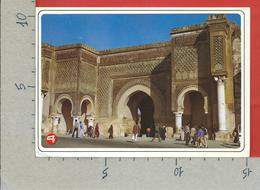 CARTOLINA VG MAROCCO - MEKNES - Bab Mansour 16 Porte - 10 X 15 - ANN. 1999 - Meknes