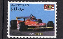 Ferrari 312 T4   (1979)  -  Maldives  -  1v MNH/Neuf/Mint - Automovilismo