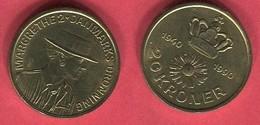 20  COURONNE 1990 TTB+ 5 - Danemark