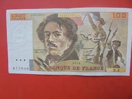 FRANCE 100 FRANCS 1978 ALPHABET N.3 CIRCULER - 1962-1997 ''Francs''