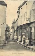 Dpts Div.-ref-AF949- Cher - Sancerre - Rue Saint Jean - Epicerie - Epiceries - Magasin - Magasins - Publicité Liebig - - Sancerre