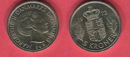 5  COURONNE 1973 TTB+ 3 - Denmark