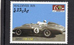 Ferrari 735 LM   (1955)  -  Maldives  -  1v MNH/Neuf/Mint - Automovilismo
