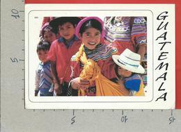 CARTOLINA VG GUATEMALA - Ninos De Joyabaj - 10 X 15 - ANN. 1998 - Guatemala