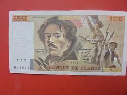FRANCE 100 FRANCS 1978 ALPHABET N.6 CIRCULER - 1962-1997 ''Francs''