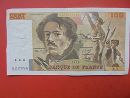 FRANCE 100 FRANCS 1978 ALPHABET N.7 CIRCULER - 1962-1997 ''Francs''