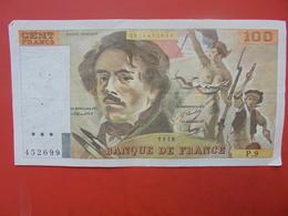 FRANCE 100 FRANCS 1978 ALPHABET P.9 CIRCULER - 1962-1997 ''Francs''