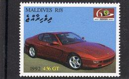 Ferrari 456 GT   (1992)  -  Maldives  -  1v MNH/Neuf/Mint - Automovilismo