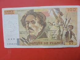 FRANCE 100 FRANCS 1978 ALPHABET R.5 CIRCULER - 1962-1997 ''Francs''