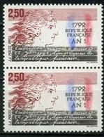 FRANCE       An I De La République Française    Paire   N° Y&T  2771  ** - Frankreich