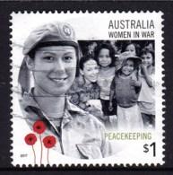 Australia 2017 Women In War $1 Peacekeeping Used - 2010-... Elizabeth II