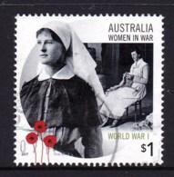 Australia 2017 Women In War $1 World War I Used - 2010-... Elizabeth II