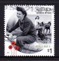 Australia 2017 Women In War $1 World War II Used - 2010-... Elizabeth II