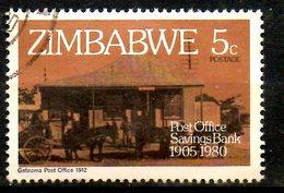 ZIMBABWE. N°21 Oblitéré De 1980. Poste. - Post