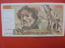 FRANCE 100 FRANCS 1978 ALPHABET T.5 CIRCULER - 1962-1997 ''Francs''