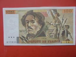 FRANCE 100 FRANCS 1978 ALPHABET T.6 CIRCULER - 1962-1997 ''Francs''