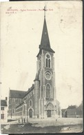 CPA Selzaete  Eglisse Paroissiale - Zelzate