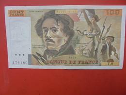 FRANCE 100 FRANCS 1978 ALPHABET T.8 CIRCULER - 1962-1997 ''Francs''