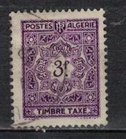 ALGERIE        N°  YVERT    TAXE 40    OBLITERE       ( O   2/51 ) - Algérie (1924-1962)