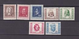 DDR - 1952 - Michel Nr. 308/310+311/314 - Postfrisch - 29 Euro - DDR