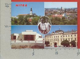 CARTOLINA VG SLOVACCHIA - NITRA - Vedutine Multivue - 10 X 15 - ANN. 1998 - Slovacchia