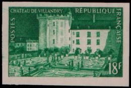 FRANCE Essais  995 Essai En Vert: Chateau De Villandry - Essais