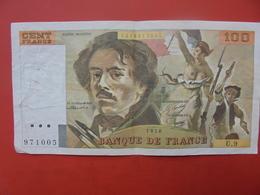 FRANCE 100 FRANCS 1978 ALPHABET U.9 CIRCULER - 1962-1997 ''Francs''
