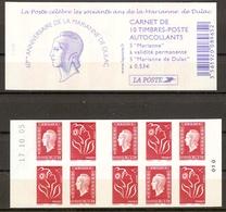 CARNET 1513 Les 60 Ans De La Marianne De Dulac - Usage Courant