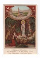 Madonna Di Lourdes, Notre-Dame De Lourdes, Nuestra Senora, Apparition De La Vierge à Bernadette Soubirous - Devotion Images
