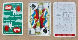 JEU DE 52 CARTES ET 2 JOKER SANS ETUI UNIL HIVER COMME ETE AVEC UNIL ROULEZ TRANQUILLE / CARTES A JOUER LA DUCALLE - Cartes à Jouer Classiques