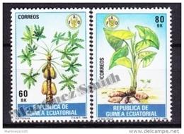 Equatorial Guinea -  Guinea Ecuatorial - Guinée Équatoriale 1984 Edifil 55- 56, World Day Of Nutrition - MNH - Guinea Ecuatorial