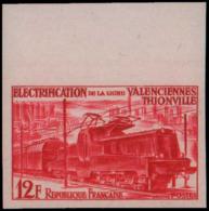 FRANCE Essais  1024 Essais En Carmin, Bdf: Locmotive Alsthom - Essais