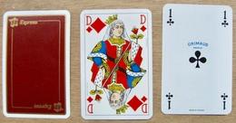 JEU DE 52 CARTES ET 3 JOKER SANS ETUI 59 EXPRESS / GRIMAUD PARIS MADE IN FRANCE - Cartes à Jouer Classiques