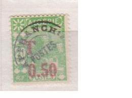 ALGERIE         N°  YVERT  :   TAXE 28     NEUF AVEC  CHARNIERES      ( Ch 1/22  ) - Algérie (1924-1962)