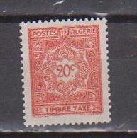 ALGERIE         N°  YVERT  :   TAXE    35    NEUF AVEC  CHARNIERES      ( Ch 1/22  ) - Algérie (1924-1962)