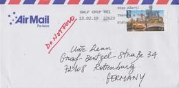 Australien 2019. Sehr Schöne Einzelfrankatur 3 $ (Melbourne) Aus Australien Nach Deutschland - 2010-... Elizabeth II