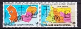 Equatorial Guinea -  Guinea Ecuatorial - Guinée Équatoriale 1984 Edifil 51- 52, Constitution Of State Powers - MNH - Guinée Equatoriale