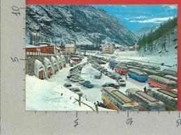 CARTOLINA VG ITALIA - GRESSONEY LA TRINITE (AO) - Panorama Invernale - Piazzale Partenza Seggiovia - 10 X 15 - ANN. 1967 - Italia