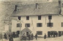 Dpts Div.-ref-AF931- Hautes Alpes - Plampinet - Poste De Chasseurs Alpins - Regiments - Militaires - Miltaria - - Otros Municipios
