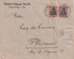 ALLEMAGNE 1920 LETTRE DE OLBERNHAU POUR BRUXELLES - Allemagne