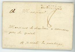 LOT ET GARONNE LAC 1773 TAXE 8 LENAIN N° 6 INDICE 13 COTE 110 EUROS - Marcophilie (Lettres)