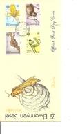 Insectes ( FDC Des Iles éloignées Des Seychelles De 1988 à Voir) - Insectes