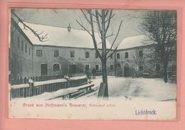 OLD POSTCARD  GERMANY - DEUTSCHLAND - BRAUEREI - BREWERY - HOFFMANN - KIRCHDORF - 1900'S - Deutschland